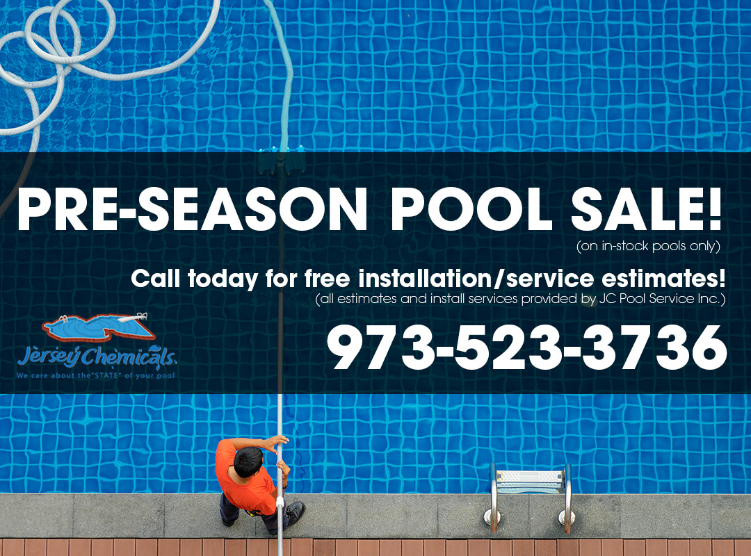 Pre Season Pool Sale