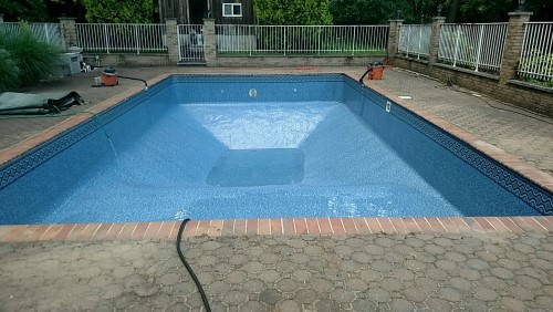 New Pool Liner Installation in Fair Lawn, NJ