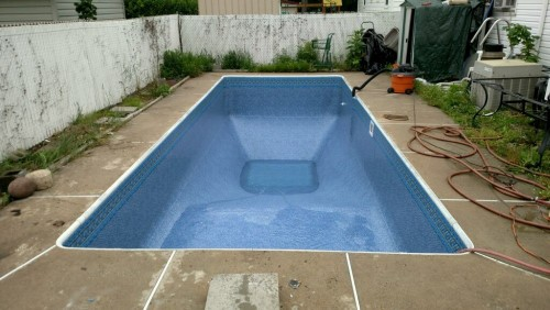 New Pool Liner Install in Paterson, NJ